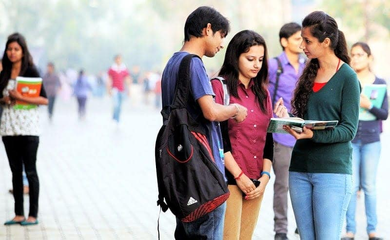 indian college students